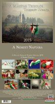 A magyar trikolór tizenkét hónapja - A nemzet naptára 2015