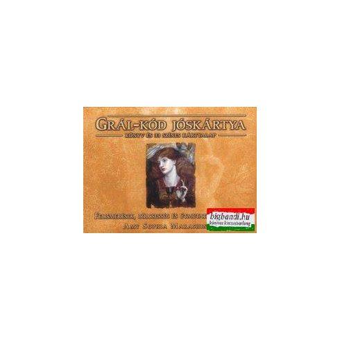 Grál-kód jóskártya - Könyv és 33 színes kártyalap