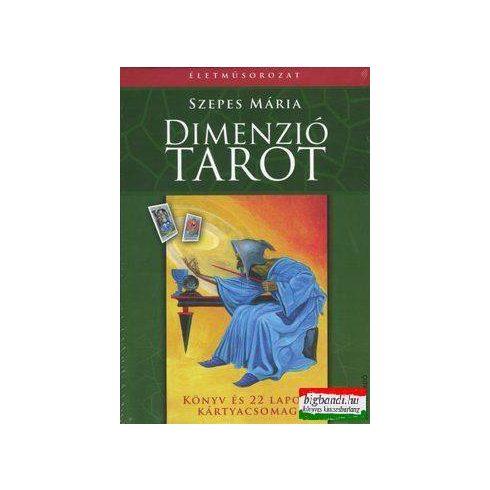 Szepes Mária - Dimenzió tarot könyv és 22 db kártya
