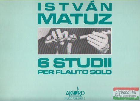6 studii per flauto solo