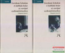 Gershom Scholem - A kabbala helye az európai szellemtörténetben I-II.