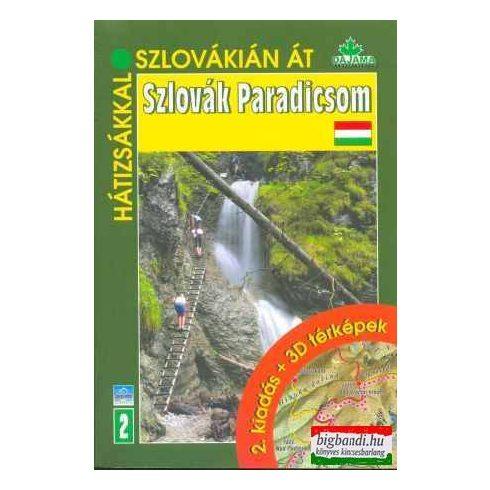 Szlovák Paradicsom (2. kiadás + 3D térképek)
