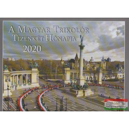 A Magyar Trikolór 2020 naptár