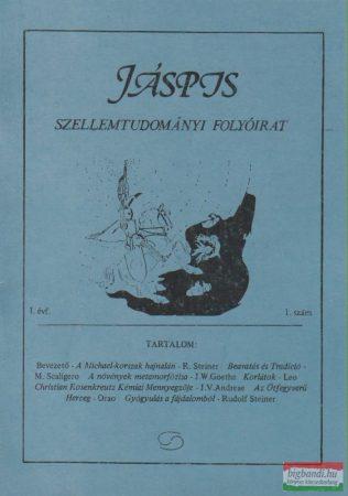 Jáspis - Szellemtudományi folyóirat 1. I. Évf. 1990 szeptember