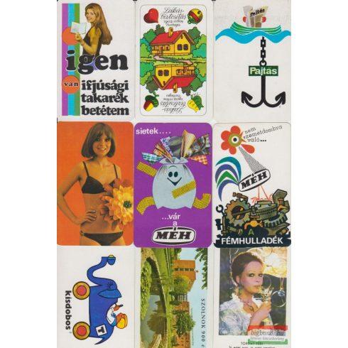 Kártyanaptárak - 1975. évi