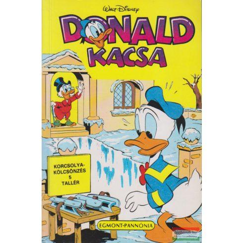 Takács János szerk. -  Donald kacsa 1990/4. Színes képregény