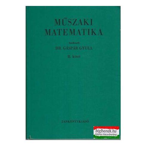 Műszaki matematika II.