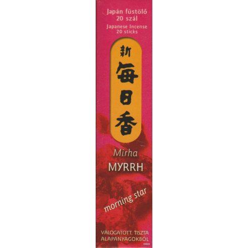 Morning Star japán füstölő - Mirha