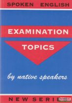 Examination topics by native speakers
