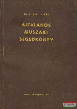 Általános műszaki segédkönyv