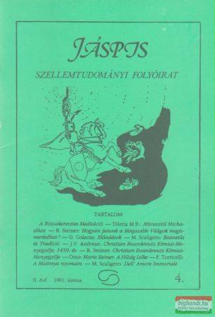 Jáspis - Szellemtudományi folyóirat 4. II. Évf. 1991 június