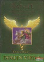 Doreen Virtue - Rafael arkangyal gyógyító jóskártyái - Könyv és 44 kártya