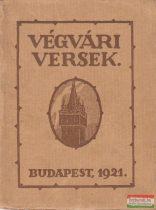 Végvári versek - Hangok a végekről 1918-1921