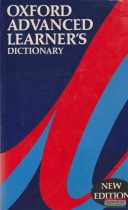 Oxford Advenced Learner's Dictionary - fourth edition