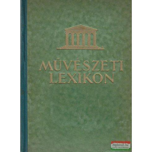 Művészeti lexikon I. A-K