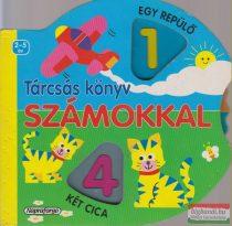 Tárcsás könyv számokkal