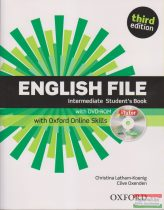 English File Intermediate Student's Book Third Edition with DVD-ROM, with Oxford Online Skills