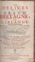 James Beeverell - Les delices de la Grande Bretagne et de l'Irlande.