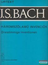 Johann Sebastian Bach - Háromszólamú invenciók