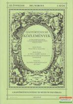 Hausner Gábor szerk. - Hadtörténelmi Közlemények 125. évfolyam 2012 március 1. szám
