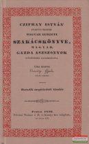 Czifray István szakács mester magyar nemzeti szakácskönyve