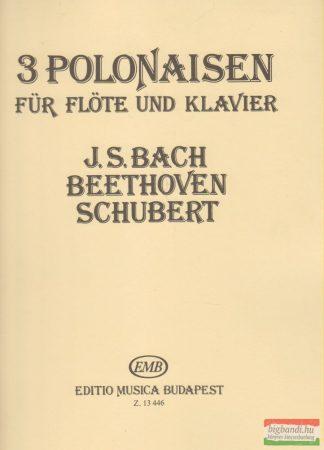 3 Polonaisen für Flöte und Klavier