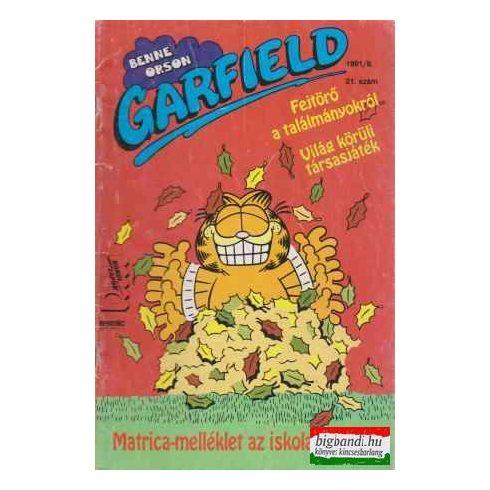 Garfield 1991/9 21. szám