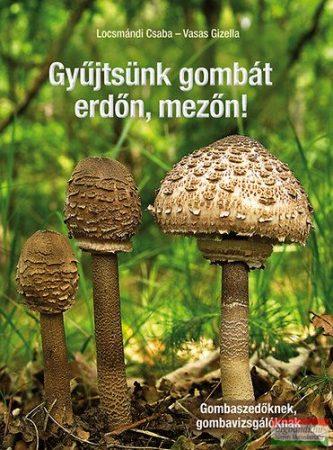 dr. Locsmándi Csaba, dr. Vasas Gizella - Gyűjtsünk gombát erdőn, mezőn! - Gombaszedőknek, gombavizsgálóknak