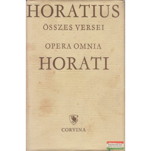 Horatius összes versei / Opera omnia Horati