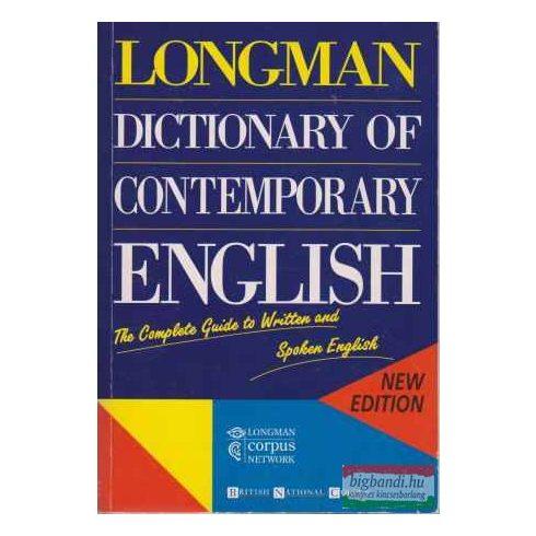 Longman Dictionary of Contemporary English - third edition