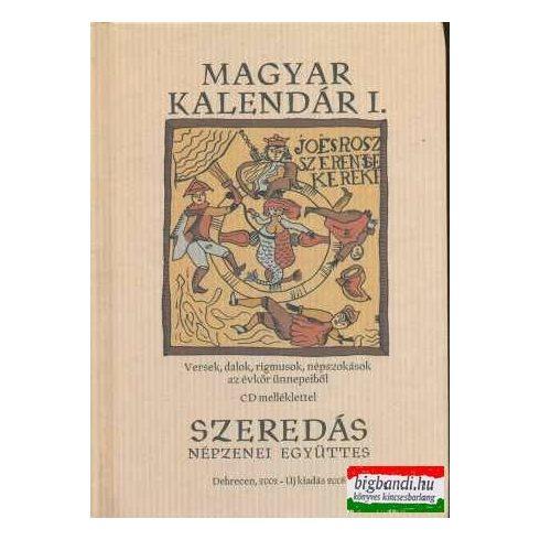 Szeredás - Magyar kalendár I. könyv + CD