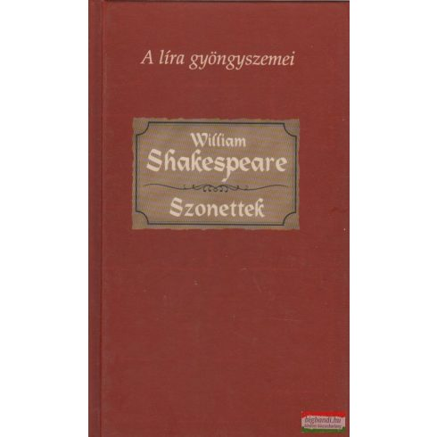 William Shakespeare - Szonettek
