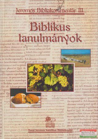 Szent Jeromos Bibliakommentár III.: Biblikus tanulmányok