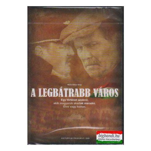 A legbátrabb város DVD