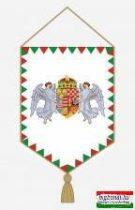 Autós zászló angyalos címerrel - farkasfogas