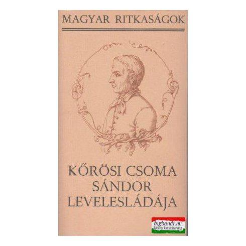 Kőrösi Csoma Sándor levelesládája (Magyar Ritkaságok)