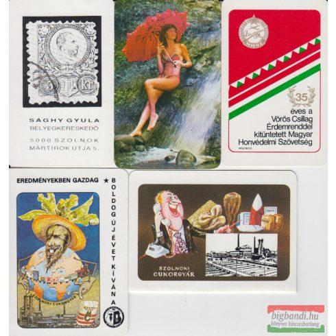 Kártyanaptárak - 1984. évi