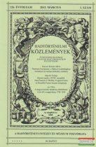 Hausner Gábor szerk. - Hadtörténelmi Közlemények 125. évfolyam 2013 március 1. szám