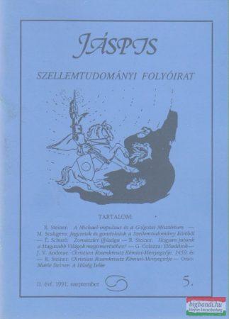 Jáspis - Szellemtudományi folyóirat 5. II. Évf. 1991 szeptember