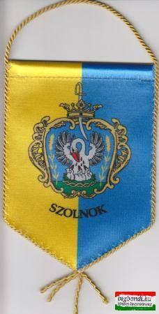 Szolnok zászló 10x14 cm-es