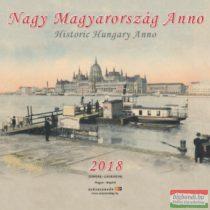 Nagy Magyarország Anno 2018 falinaptár