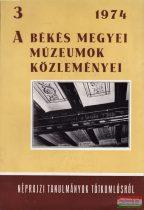 A Békés megyei Múzeumok közleményei 3.