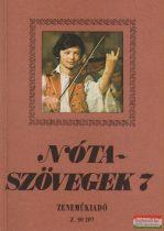 Leszler József - Nótaszövegek 7.
