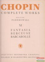 Chopin Completet Works XI. - Fantasia, Berceuse, Barcarolle