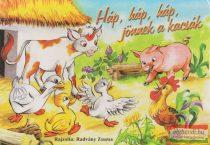 Radvány Zsuzsa - Háp, háp, háp, jönnek a kacsák (leporelló)