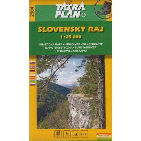 Szlovák Paradicsom turistatérkép 1:25 000