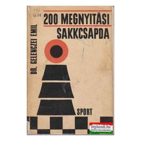 200 megnyitási sakkcsapda