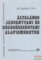 Dr. Rudnai Ottó - Általános járványtani és közegészségtani alapismeretek