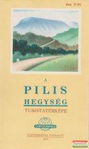 A Pilis hegység turistatérképe