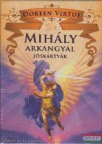 Doreen Virtue - Mihály arkangyal jóskártyák - Könyv és 44 kártya
